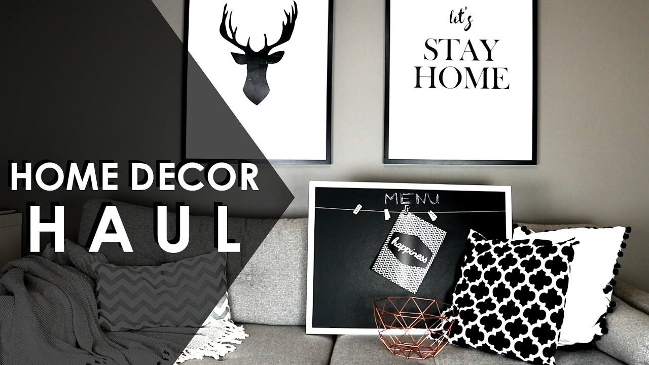home decor haul konkurs dekoracje do domu haul