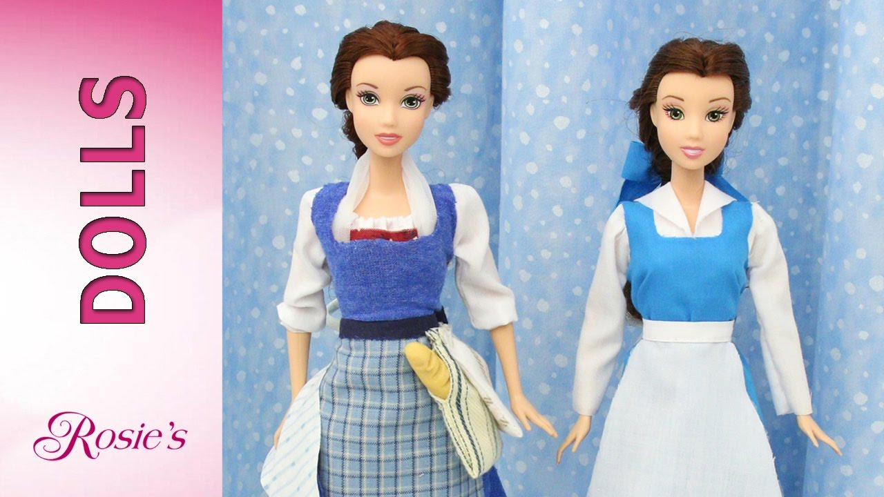 beauty and the beast belles makeover part 5 blue dress