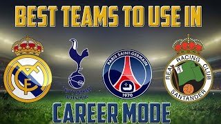 FIFA 15 | BEST TEAMS TO USE IN FIFA 15 CAREER MODE