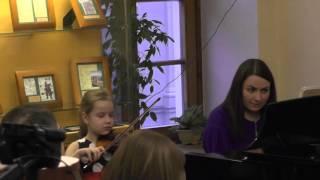 Дрожжина Анна – «Аллегретто», В.А. Моцарт
