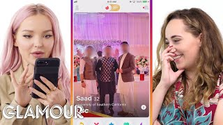 Download Dove Cameron Hijacks a Stranger's Phone | Glamour Mp3 and Videos