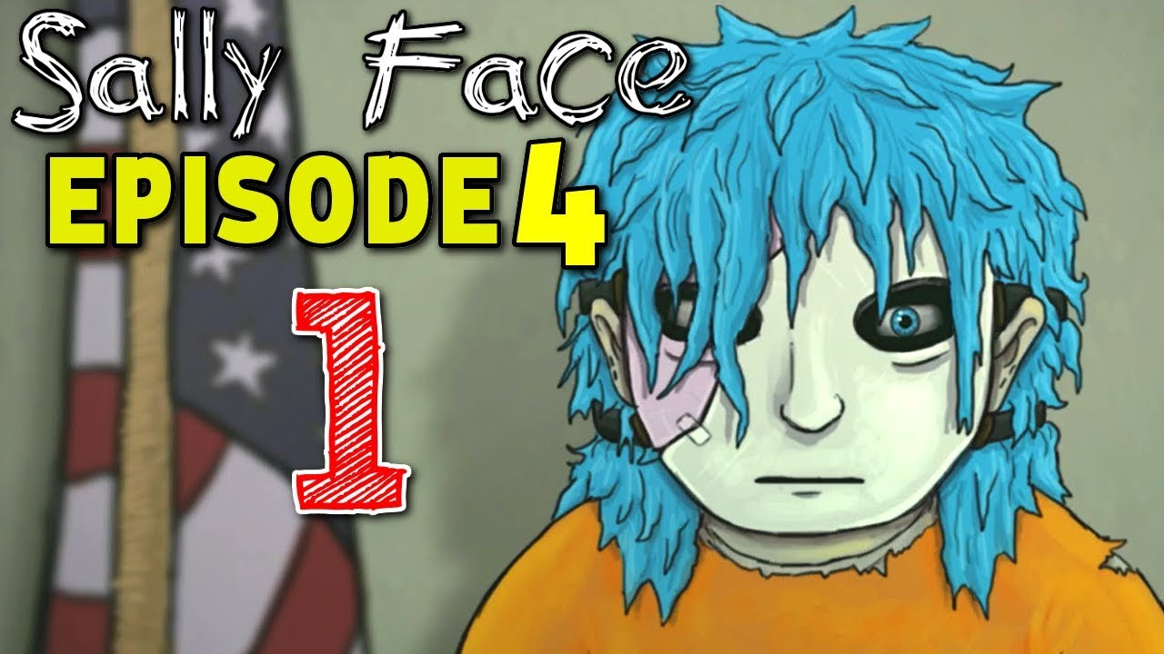 Sally Face EPISODE 4 : The Trial - All Will Be Revealed ( ALL VHS TAPES )  Manly Let's Play [ 1 ]