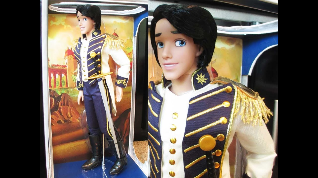 Disney S Limited Edition 17 Quot Prince Eric Doll Review Youtube