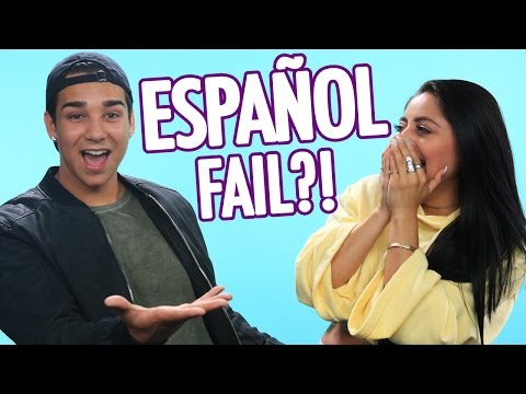 "GF+BF try ""Despacito"" SPANISH LYRICS Challenge!"