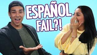 "GF+BF try ""Despacito"" SPANISH LYRICS Challenge!"