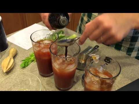 bloody mary коктейль рецепт