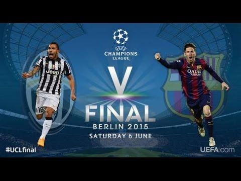 Барселона - Ювентус  [PES 2015]  Финал Лиги Чемпионов УЕФА 2014/2015