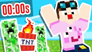 Minecraft, but every 30 SECONDS it tries to KILL YOU!