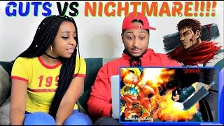 "ScrewAttack! ""Guts VS Nightmare"" DEATH BATTLE REACTION!!!!"