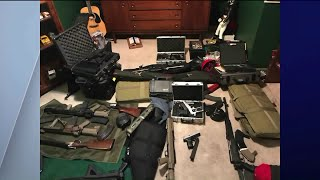 Chicago police recover 60 guns, father and son in custody