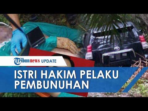 Otak Pembunuhan Hakim PN Medan yang Tewas di Mobil Ternyata Istri Sendiri, Pelaku Bayar 2 Orang Lain