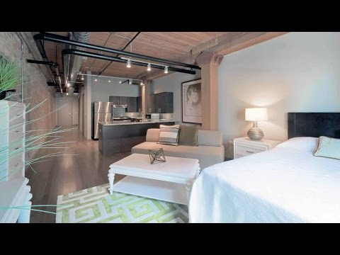 Tour a Streeterville studio at The Lofts at River East