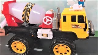 Car Toys For Children | Many Trucks and Excavator Playing