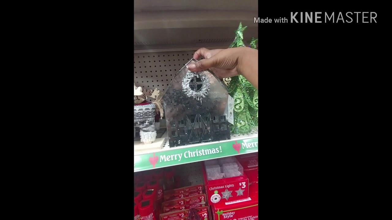 Christmas Decor At Dollar Tree U0026 Dollar General + Bling Items!