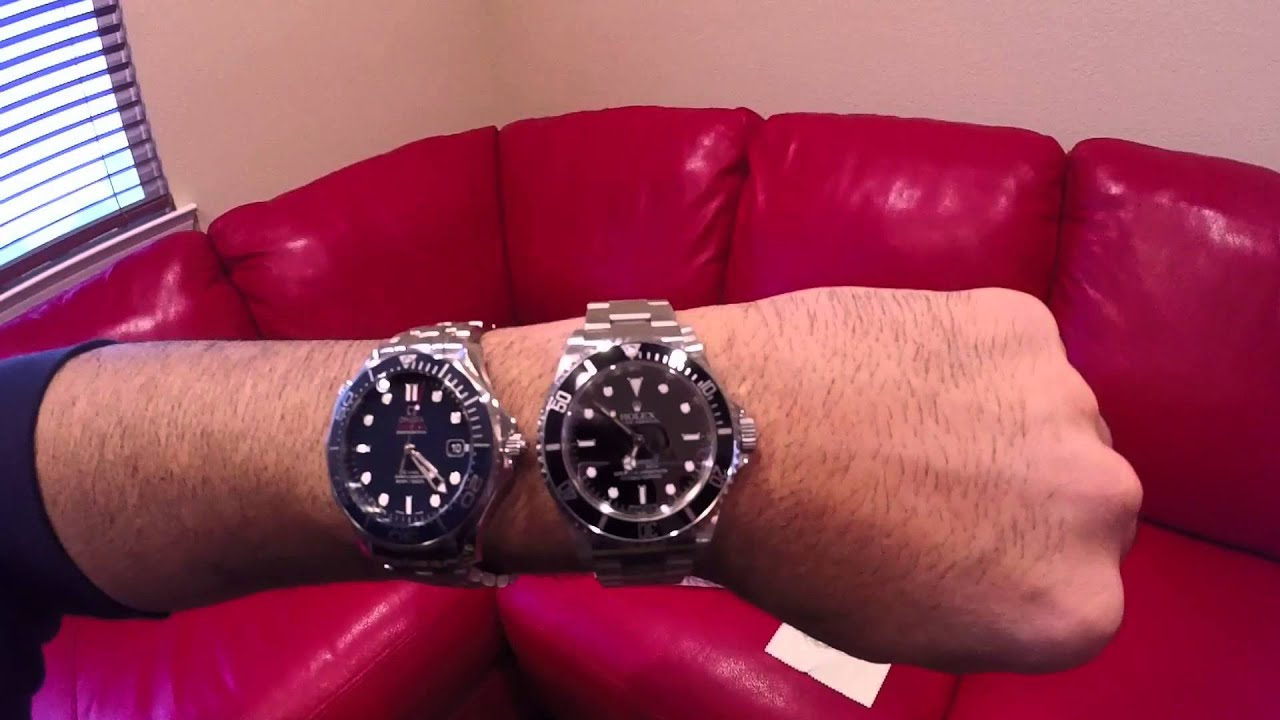 Rolex Submariner vs Omega Seamaster  Compare and Contrast  YouTube