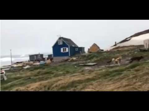 Earthquake Causes ATLANTIC TSUNAMI   Greenland Hit