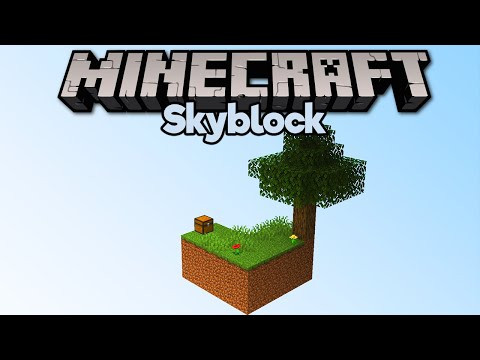 Getting Started In Skyblock! ▫ Minecraft 1.15 Skyblock (Tutorial Let's Play) [Part 1] thumbnail