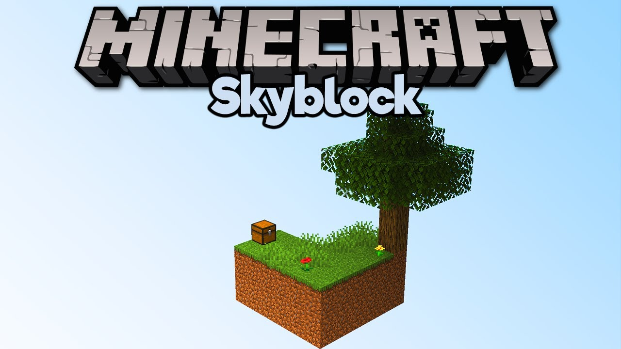 Getting Started In Skyblock! ▫ Minecraft 1.15 Skyblock (Tutorial Let's  Play) [Part 1] - YouTube