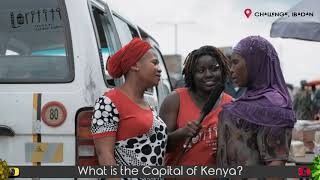 What Is THe CApital Of Kenya? | Funny Answers | Vox Pop| LORITITI