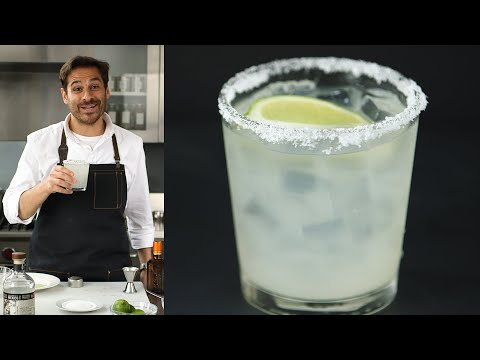 How To Make a Traditional Margarita - Kitchen Conundrums with Thomas Joseph