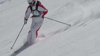 Урок 31 - Фрирайд: обучение катанию на горных лыжах по целине(7)