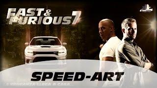 Gambar cover Fast & Furious 7 (Rápidos y Furiosos 7) - Speed Art Wallpaper