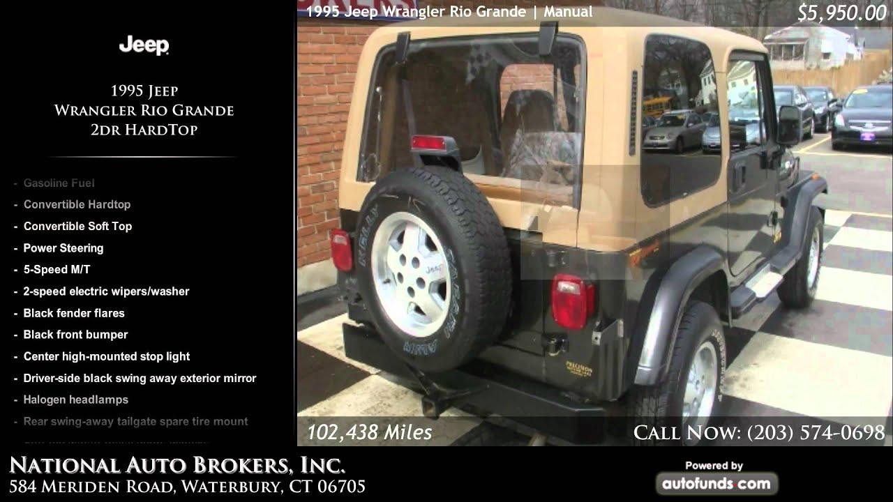 1995 Jeep Wrangler Rio Grande 2dr Hardtop National Auto