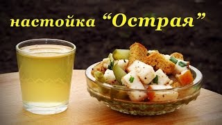 """Рецепт настойки на водке, """"Острая"""""""