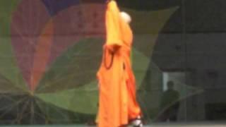 SHAOLIN MONKS SHI-HENG-CHAN 釋恒禅 5 ANIMAL QI-GONG, MITICA INDIA 2010