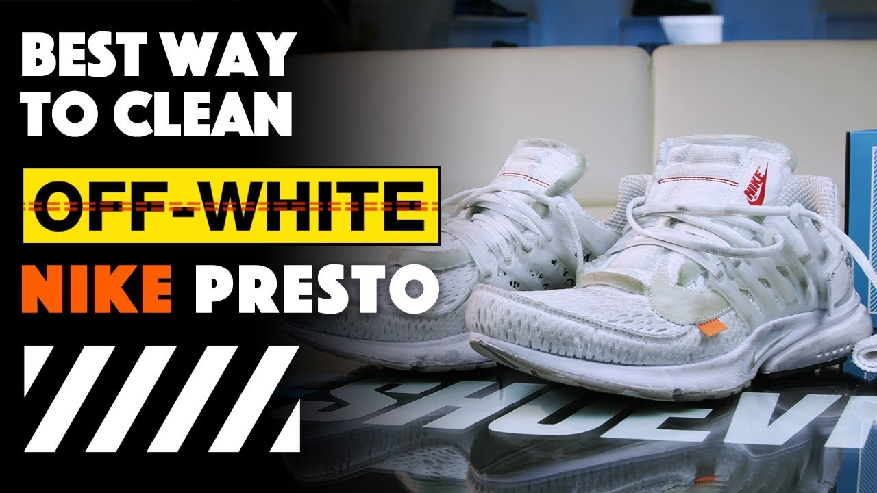 how to clean nike presto
