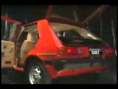 Mitsubishi Colt 45 ad [1984] MCCCN.NL.mp4 - Смешные видео приколы