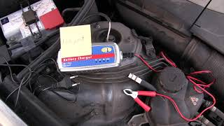Laden Der 2 Batterien Im Mb W221 Bj 2007 Youtube