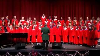 Feliz Navidad - EHS Concert Choir - 18 Dec 13