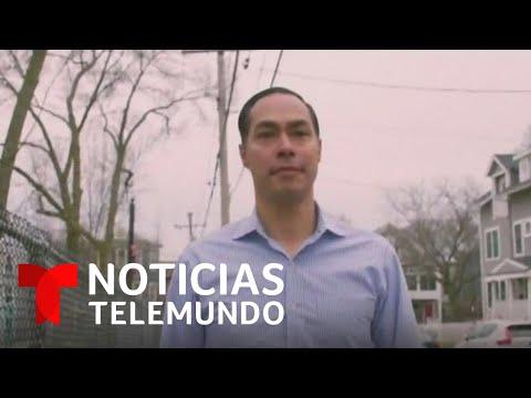Julián Castro anunció su respaldo a la senadora Elizabeth Warren | Noticias Telemundo