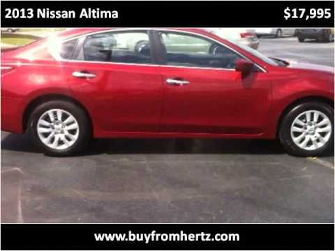 2013 Nissan Altima Used Cars Fort Smith AR