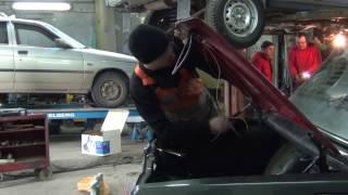 видео Самостоятельная замена переднего крыла ВАЗ 2107