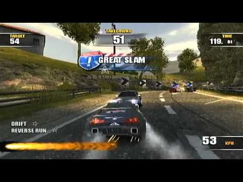 PS2 Burnout Dominator 129 Takedowns