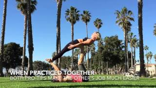 AcroYoga Training Video: Catherine