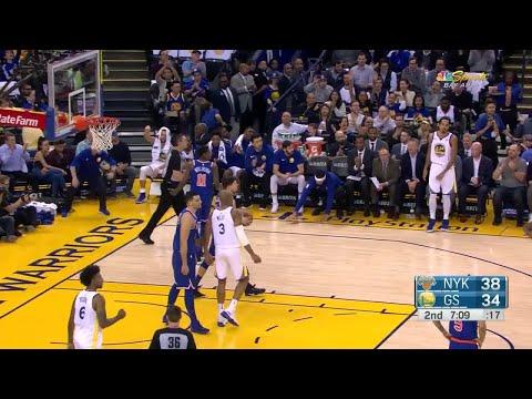 2nd Quarter, One Box Video: Golden State Warriors vs. New York Knicks