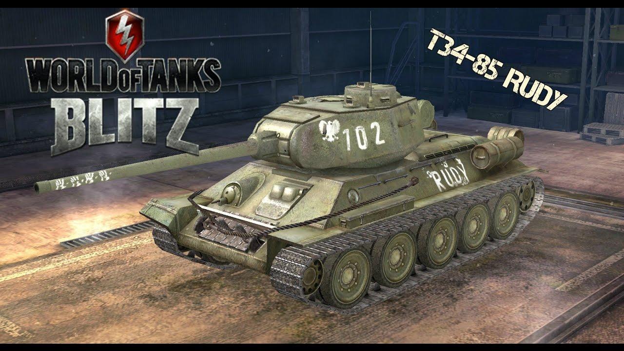 T-34-85 Rudy / T-34-85 Custom - YouTube