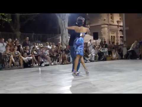 Jeudis de Nîmes 17 Aout 2017 / Démonstration1:Veronica Cordero & José Artigas