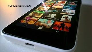 Teste 12 Jogos Pesados Nokia Lumia 630 / Melhores Games para Windows Phone 512 RAM