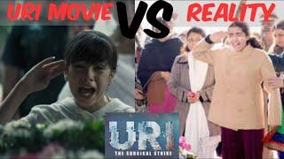 Uri movie vs Real salute of Martyr Daughter | URI movie scenes