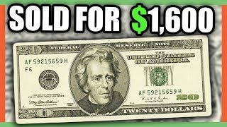 RARE $20 DOLLAR BILLS WORTH A LOT OF MONEY - RARE CURRENCY BANK NOTES TO LOOK FOR!!