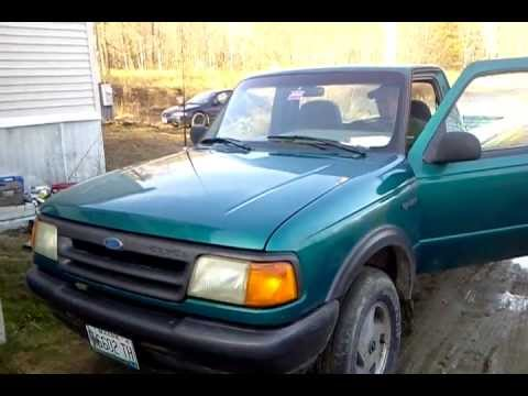 1994 ford ranger 4x4 5 speed youtube. Black Bedroom Furniture Sets. Home Design Ideas