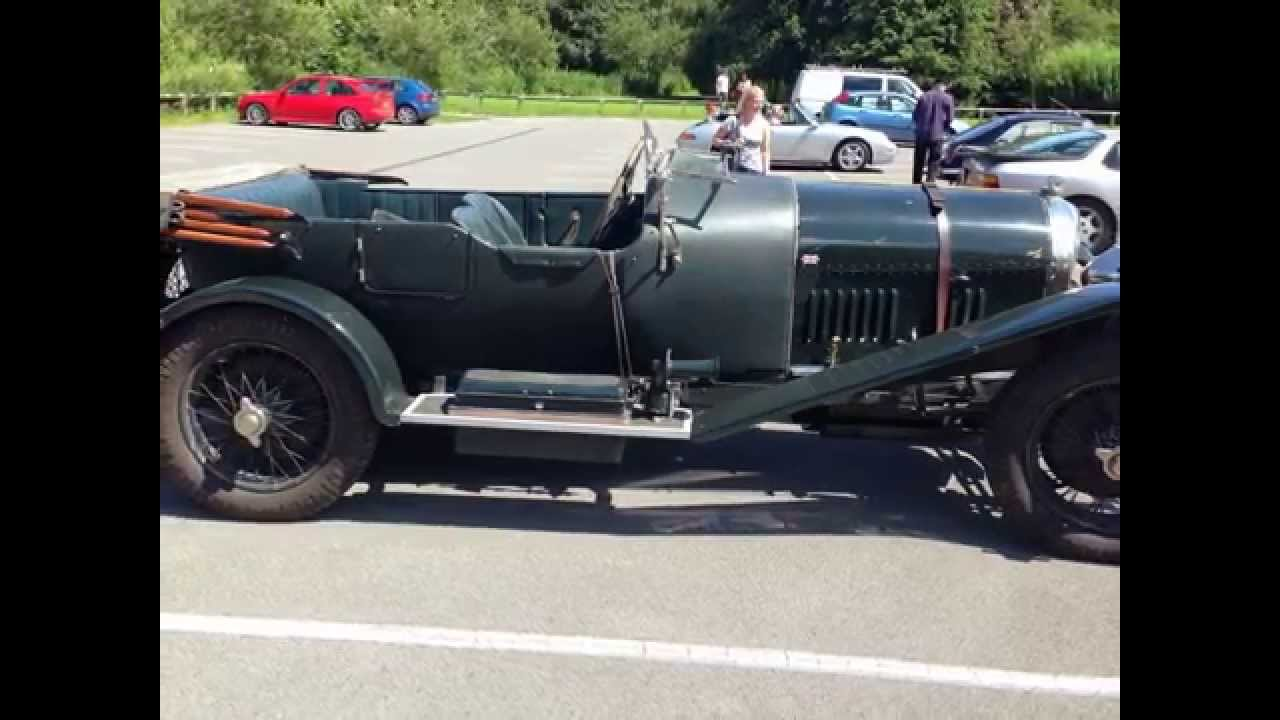 Vintage Bentley Sports Car