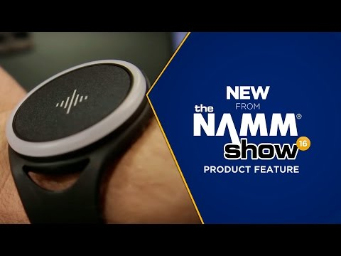Live at NAMM 2016 - Soundbrenner Pulse Wearable Metronome