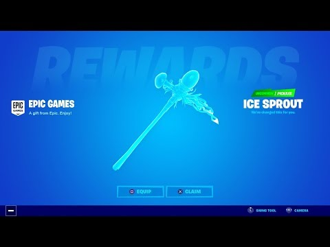 NEW SECRET PICKAXE IN FORTNITE! (How To Get Free Pickaxe)