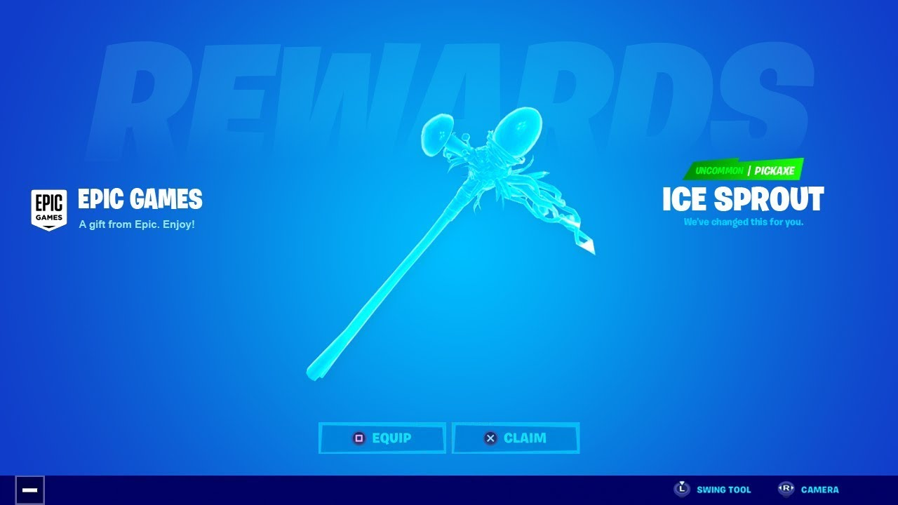 Ice Pickaxe Fortnite