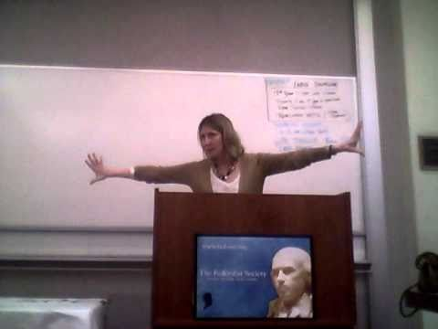 Title IX and College Sports. Christina Hoff Sommers at Rutgers Federalist Society (Newark)-5
